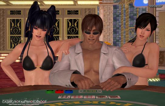 DOA Casino Royale: Strip Poker Night Pt.2