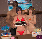 Happy Birthday, Nagisa by ShadowNinjaMaster
