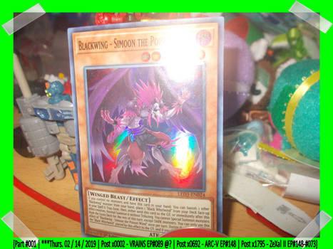 Rare Cards I Got On Thurs.02/14/2019 (#001)