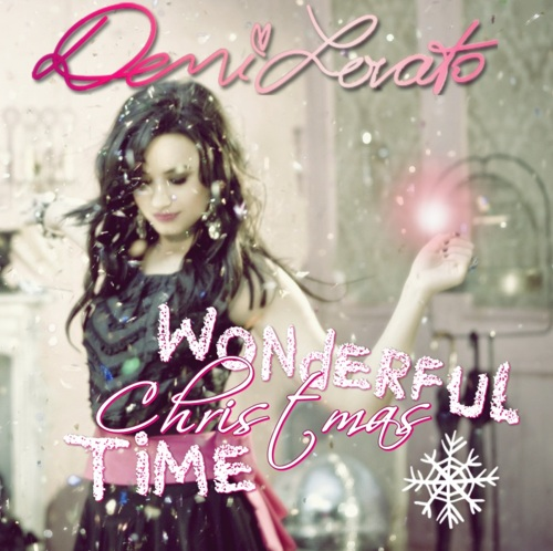 Demi Lovato CD Cover - Wonderful Christmas Time by xNiciCupcake on ...