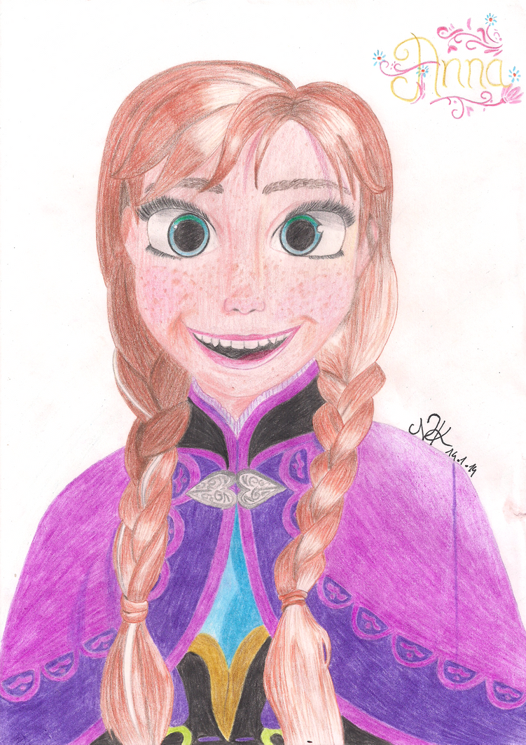 Princess anna from frozen by xnicicupcake on deviantart