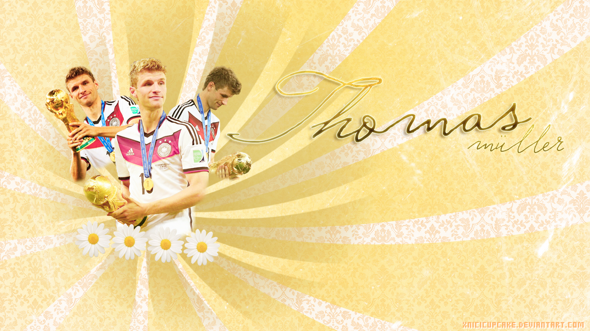 Thomas Muller 2017 Germany Wallpaper