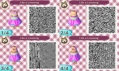 AC New Leaf - Design #5 - 'Like A Lovesong'