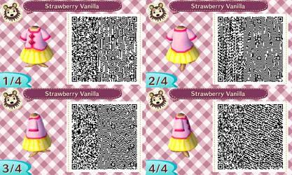 AC New Leaf - Design #7 'Strawberry Vanilla'