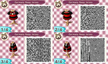 AC New Leaf - Design #9 'Germany Away Jersey'