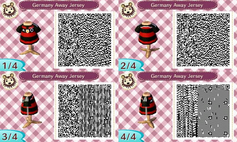 AC New Leaf - Design #9 'Germany Away Jersey' by xNiciCupcake