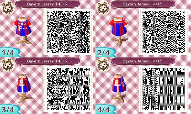 AC New Leaf - Design #10 'Bayern Munich Jersey #1' by xNiciCupcake