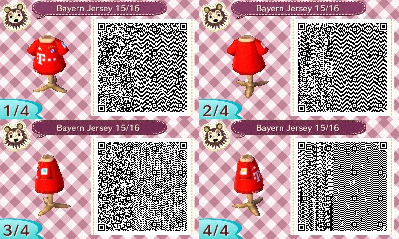 AC New Leaf - Design #12 'Bayern Munich Jersey #3' by xNiciCupcake