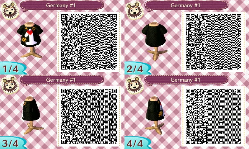 AC New Leaf - Design #13 'Germany Number One' by xNiciCupcake