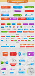 Web Buttons Kit by BotaIusti