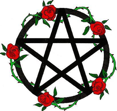 rose pentagram tattoo design by trogdor7 on deviantart. Black Bedroom Furniture Sets. Home Design Ideas