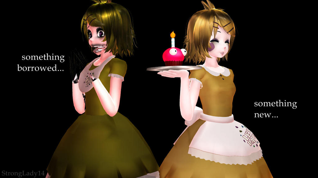 [MMD X FNAF] Old Chica Or Toy Chica? By StrongLady14 On