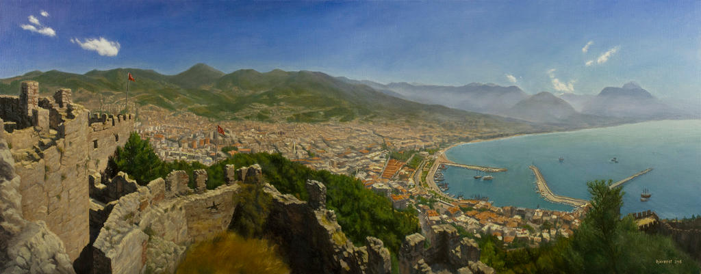 View of Alanya by TomasBj