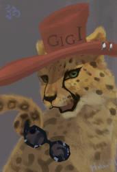 cheetah sis by Sparoapple