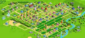 MLP Gameloft Game - Full Ponyville Screenshot