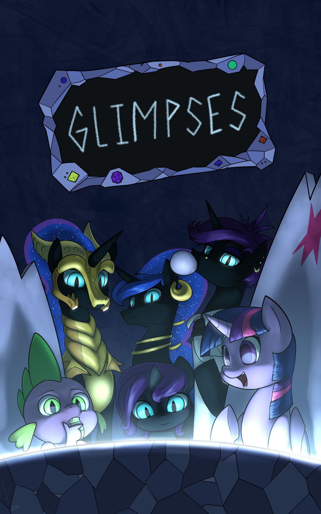 Glimpses Cover Art - COM (All Valcron)