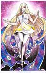 Pokemon Sun/Moon- Lusamine Fanart