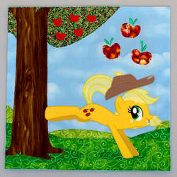 Applejack Quilt Square