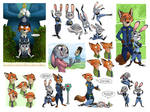 Zootopia Sketches