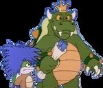 King Koopa and Kooky Von Koopa (For OrtizAngel)
