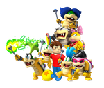 Me and the Koopalings (For OrtizAngel)