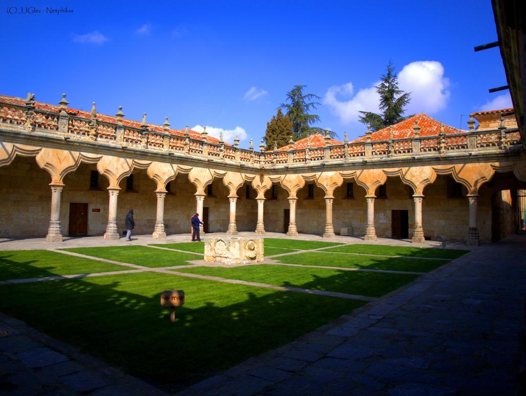 University of Salamanca. Patio de Escuelas by Netphilos on ...