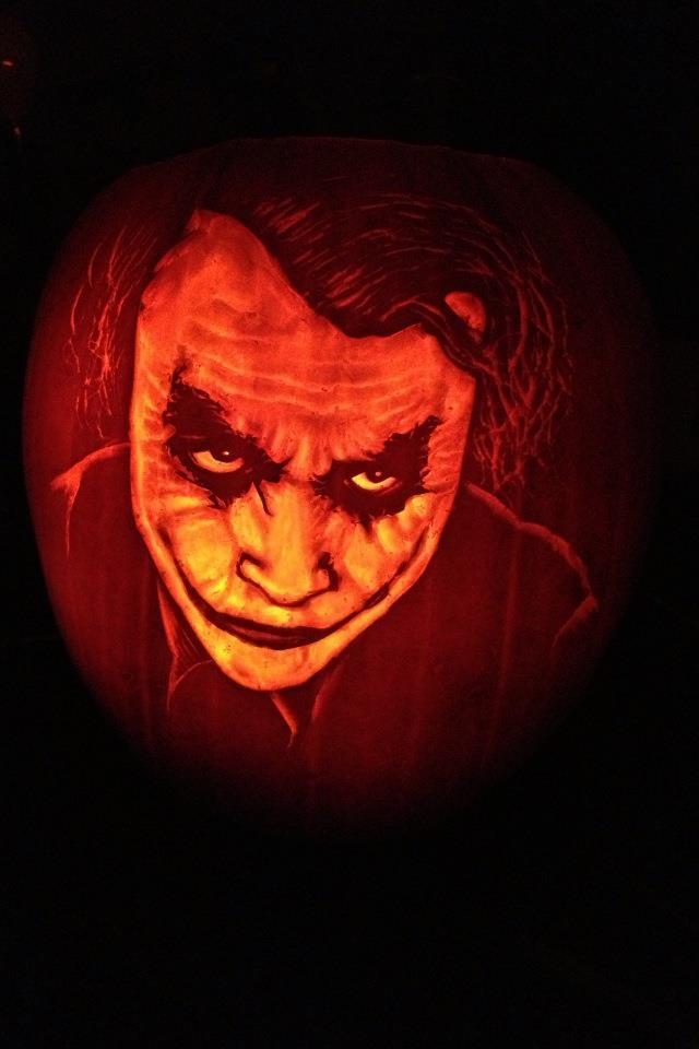 Joker pumpkin by mannaz on deviantart