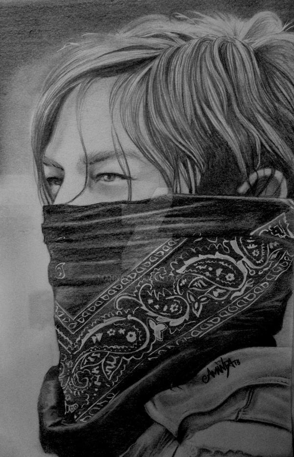 Daryl Dixon - Season 4 by Mannaz11