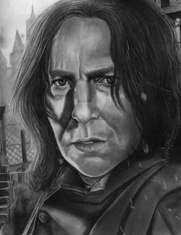 Severus Snape. by Mannaz11