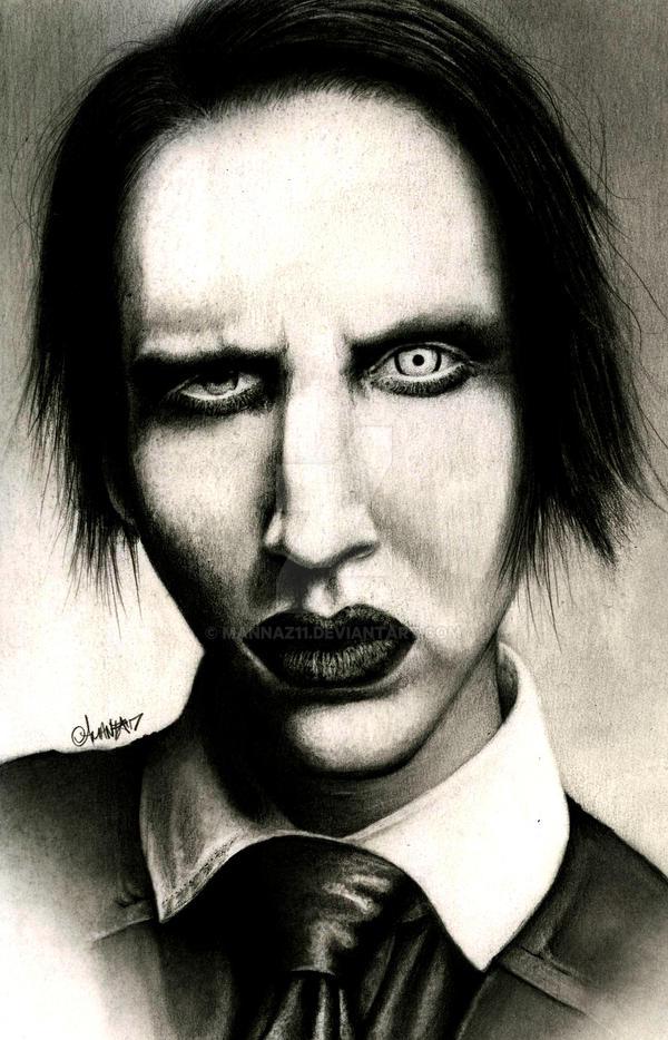 Marilyn Manson By Mannaz11 On Deviantart