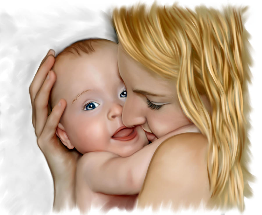 Mother Child_1 by chetanpatel980