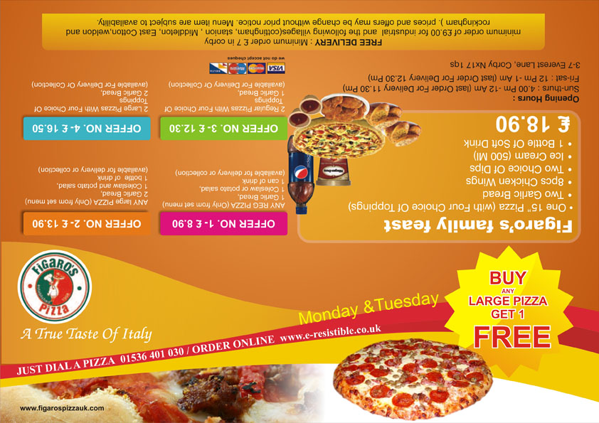Fast Food Flyer by chetanpatel980 on DeviantArt