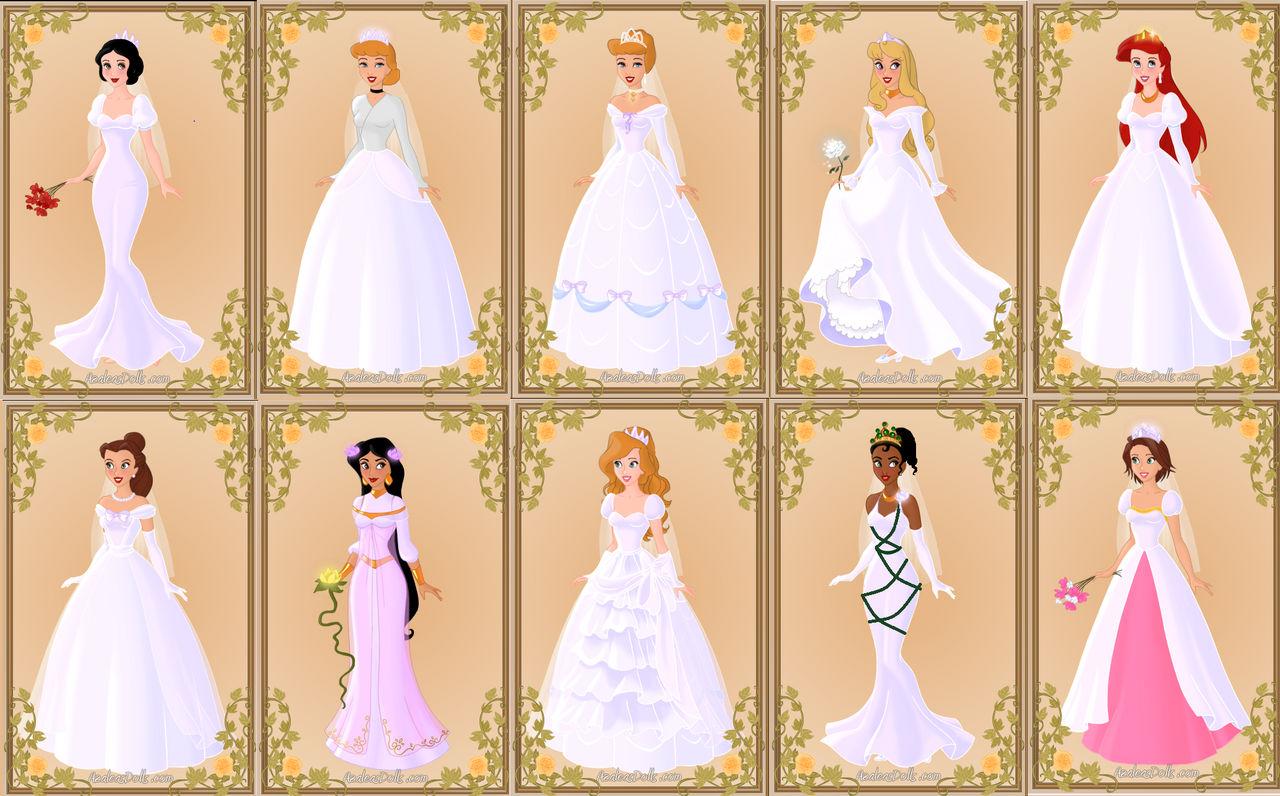disney princess wedding dresssnyder0101 on deviantart