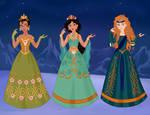 Rainbow Princesses II