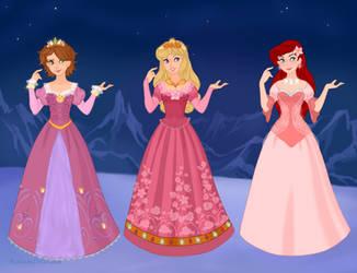 Rainbow Princesses III by Snyder0101