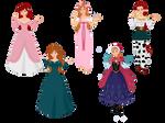 Disney Redheads by Snyder0101