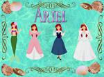 Princess Portraits: Ariel