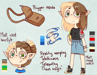 Persona, Reference Sheet by Tulippie
