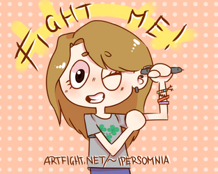 Fight me! by Tulippie