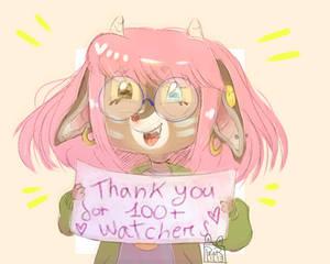 100 times thank you
