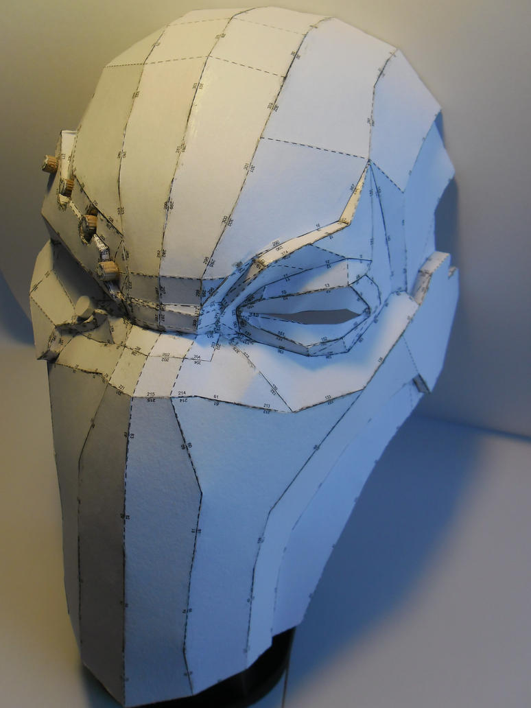 deathstroke armor template - the gallery for deathstroke mask drawing