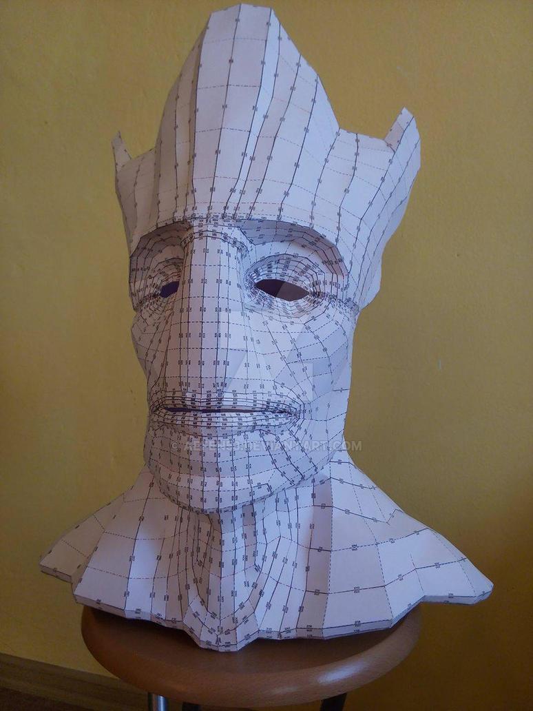 Groot (pepakura) Phase 01. by AefeN53