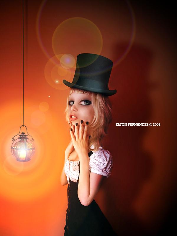 Orange Darkness by EltonFernandes