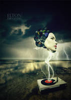 Vinyl's in dream by EltonFernandes