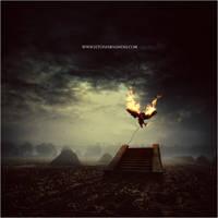 Her Black Wings by EltonFernandes