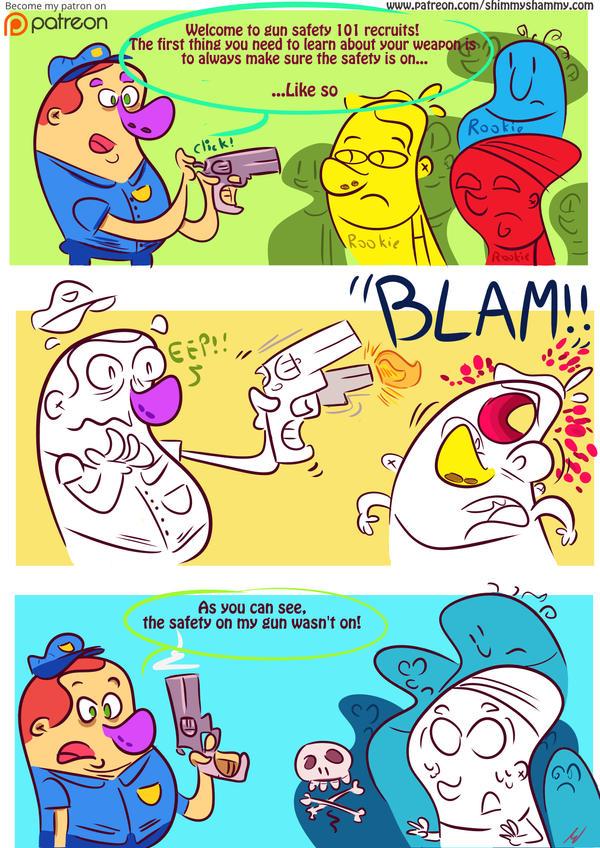 ::Gun Safety:: by shimmyshammy