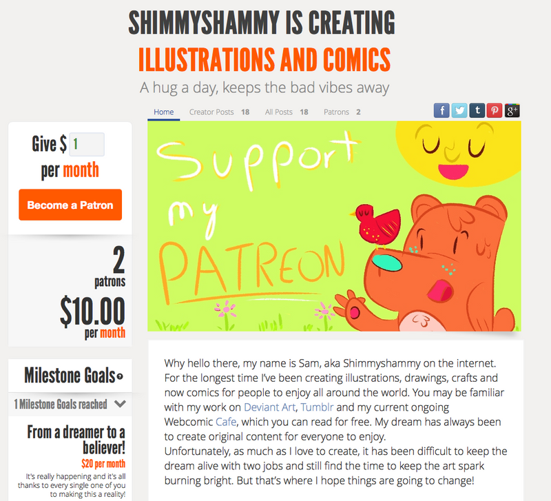 ::Shimmyshammy is on Patreon:: by shimmyshammy
