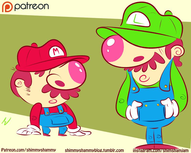 ::Mario Bros:: by shimmyshammy