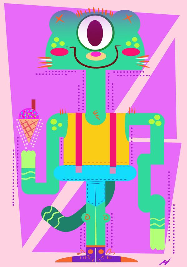 ::One-Eye Cat:: by shimmyshammy