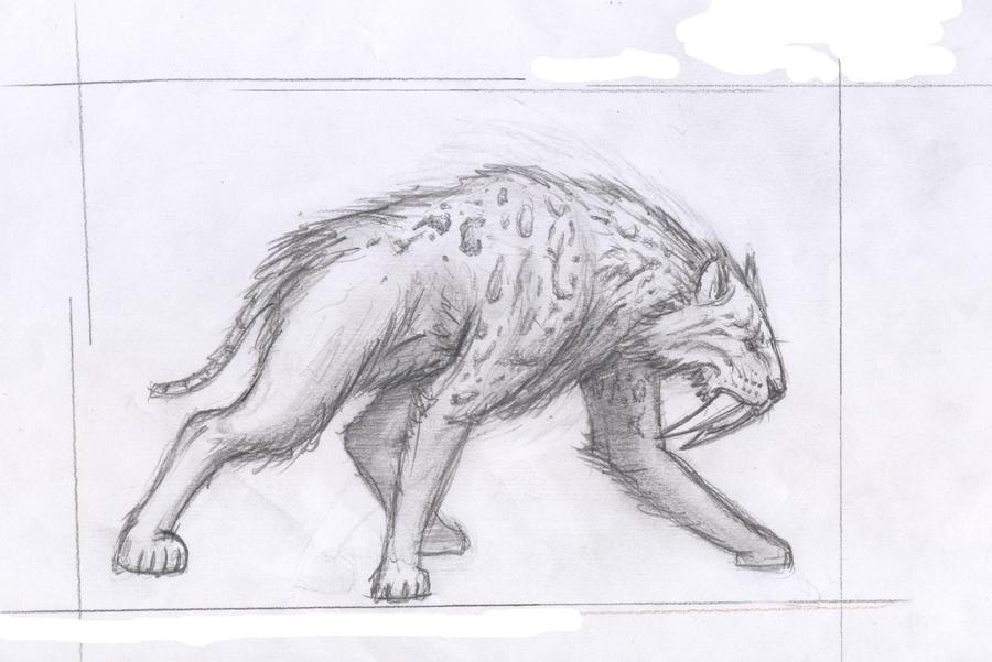Smilodon Face By Pyroraptor42 On Deviantart: Smilodon By Flumbo On DeviantArt